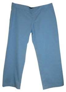 Hurley Polyester Cotton Short Casual Capri/Cropped Pants Blue