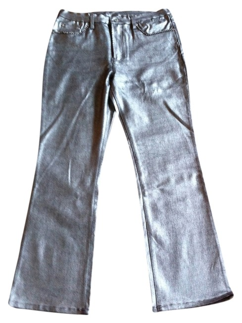 DG2 by Diane Gilman Boot Cut Jeans-Coated