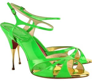 Christian Louboutin Lime green Sandals
