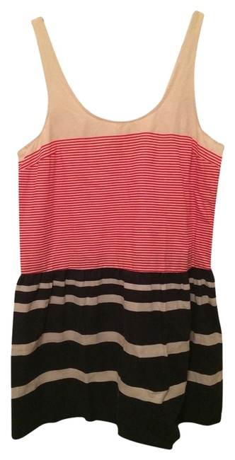 Item - Multicolor Urban Outfitters American Stripes Knee Length Short Casual Dress Size 12 (L)