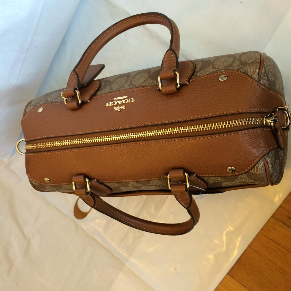 f971097b1fe3 clearance final price coach large signature bennett satchel 8cbd2 37fe5   official store coach satchel in signature. 123456789 51bbd 7419f