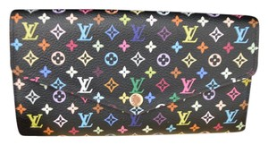 Louis Vuitton Louis Vuitton Multicolor Black Sarah Wallet NEW Style PRISTINE IN BOX