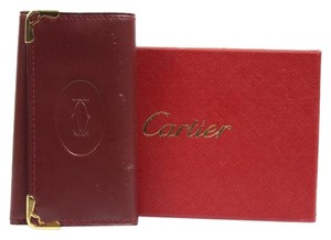 Cartier [ENTERPRISE]Bordeaux Key Holder 76CARA609
