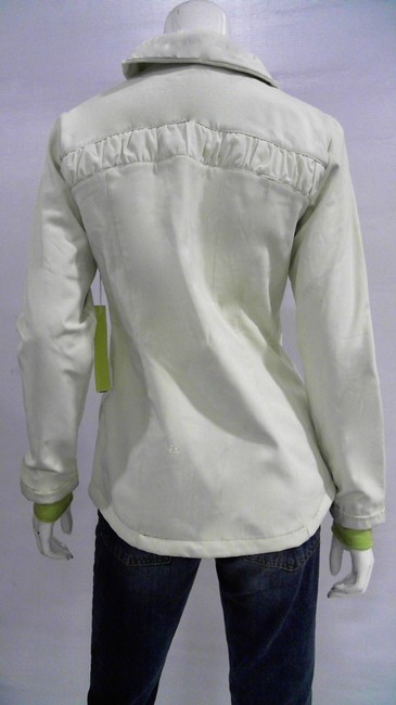 Mondetta Very pale green and bright green accents Jacket