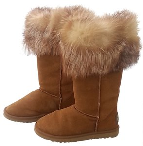 Australia Luxe Collective Fur Chestnut Boots