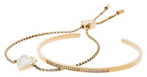 Michael Kors MICHAEL KORS Gifting Goldtone Two-Piece Bracelet Set