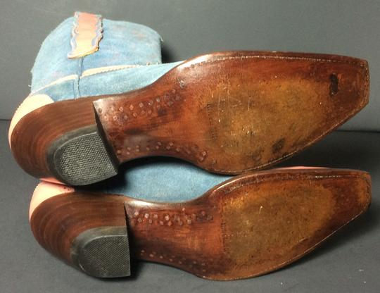 Old Gringo Wenstern Cowgirl Size 6 Pink Blue Boots Image 8