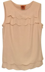 Tory Burch Sleeveless Top Beige