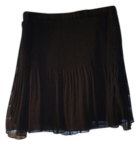Zara New Mini Skirt Black