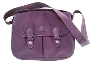Longchamp Satchel in Grape