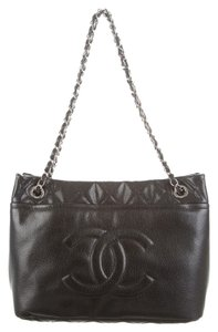 Chanel Timeless Grand Shopping Gst Tote in Black