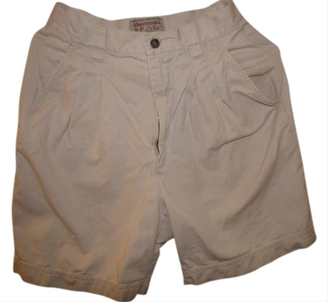 Abercrombie & Fitch Dress Shorts Ivory