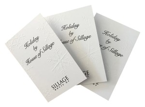 House of Sillage House of Sillage Holiday Parfum Sample 3x 1.8ML