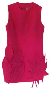 Poesia by Chris Chang short dress Fuchsia on Tradesy
