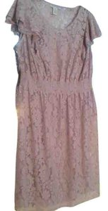 Jessica London short dress pale plum on Tradesy
