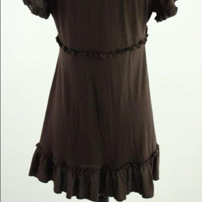 Anthropologie Babydoll Embroidered Tunic