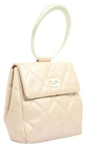Chanel Kelly Classic Flap Satchel in Pink