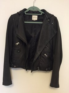Silence + Noise Faux Leather Urban Outfitters Leather Jacket