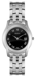 Gucci Ladies Roman Numeral Stainless Steel Watch YA055503