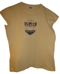 Aeropostale Sparkle T Shirt Yellow