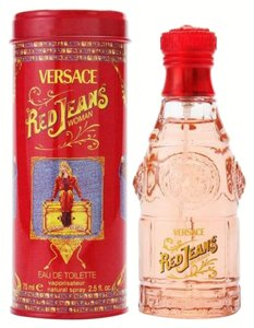 Versace VERSUS RED JEANS by VERSACE Eau de Toilette Spray ~ 2.5 oz / 75 ml