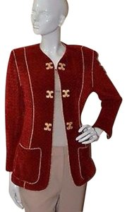 St. John Red Blazer