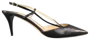 Jimmy Choo Slingback Pointed Toe black Pumps