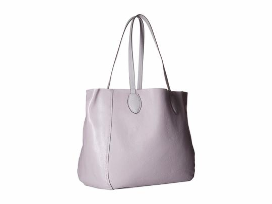 Michael Kors Mae East West Large Leather / Tote in Lilac / Silver Image 1