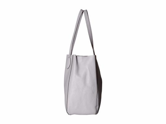 Michael Kors Mae East West Large Leather / Tote in Lilac / Silver Image 3