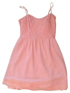 Vera Wang short dress Pink on Tradesy