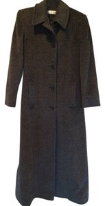 Isaac Mizrahi Full Length Wool-blend Coat
