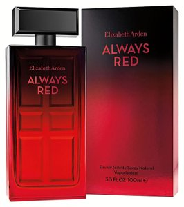 Elizabeth Arden ALWAYS RED by ELIZABETH ARDEN Eau de Toilette Spray ~ 3.3 oz / 100 ml