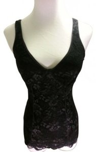 Express Top Black lace