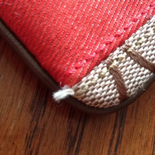 Coach Wristlet in Brown, Red Image 5