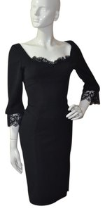 Thierry Mugler Lace Bodycon Little Dress