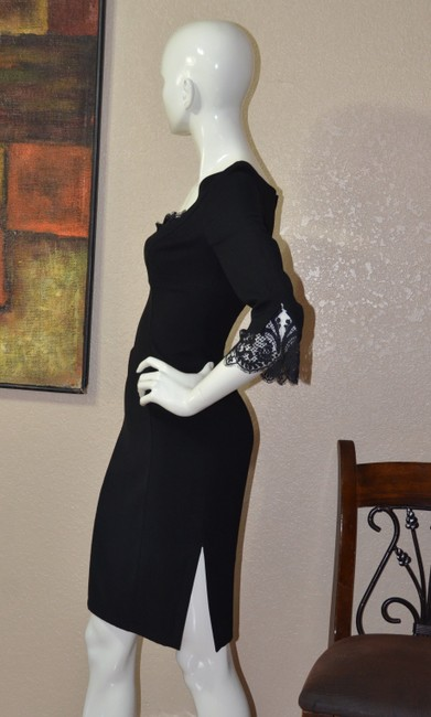 Thierry Mugler Lace Bodycon Little Dress Image 2