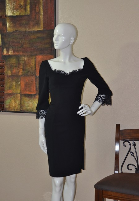 Thierry Mugler Lace Bodycon Little Dress Image 4