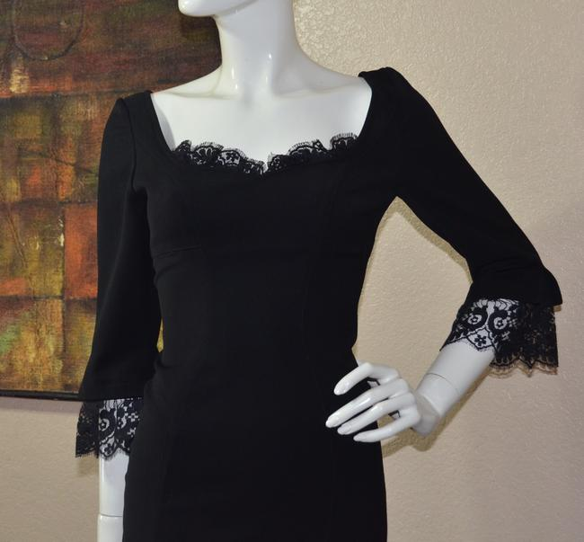 Thierry Mugler Lace Bodycon Little Dress Image 5