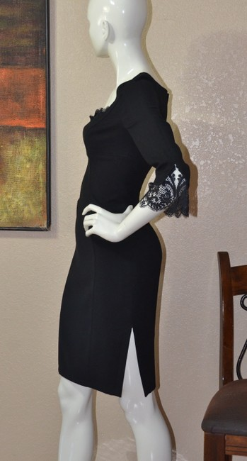 Thierry Mugler Lace Bodycon Little Dress Image 6