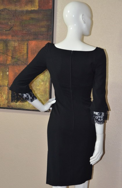 Thierry Mugler Lace Bodycon Little Dress Image 8