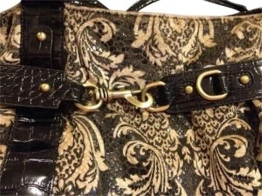 Preload https://item3.tradesy.com/images/francesca-s-paisley-leather-black-tote-165202-0-0.jpg?width=440&height=440