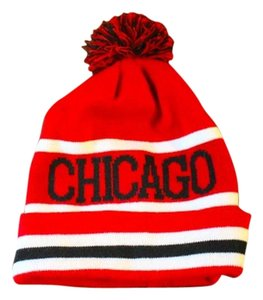 Chicago WINTER SNOW HAT POM POM CHICAGO