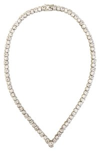 Nordstrom Round And Princess Cut Cz Necklace