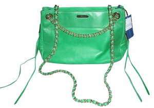 Rebecca Minkoff Leather Expandible Dust Convertible Cross Body Bag