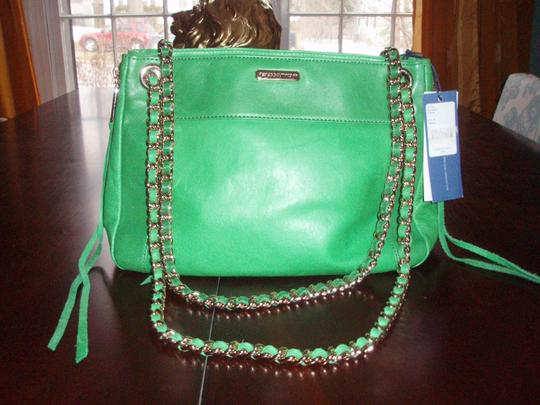 Rebecca Minkoff Leather Expandible Dust Convertible Cross Body Bag Image 7