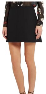 RED Valentino Mini Skirt Black