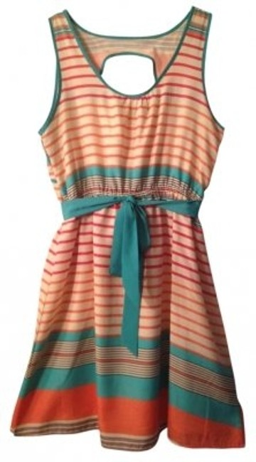 Preload https://item4.tradesy.com/images/francesca-s-striped-keyhole-back-belted-above-knee-short-casual-dress-size-8-m-165223-0-0.jpg?width=400&height=650