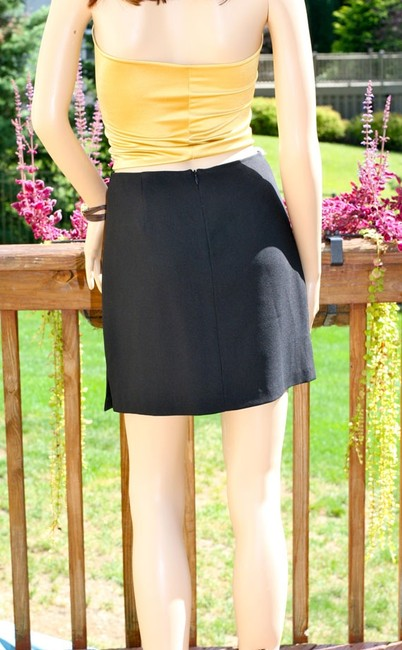 Parallel Women Pencil Xs Mini Skirt Black
