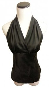 Express Black Halter Top