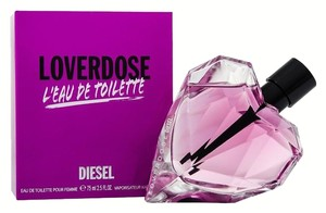 Diesel LOVERDOSE L'EAU DE TOILETTE by DIESEL EDT Spray ~ 2.5 oz / 75 ml